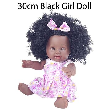 African American Black Girl Play Dolls