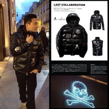 DCCKD9A Mastermind Japanese X Moncler Winter Jacket Black