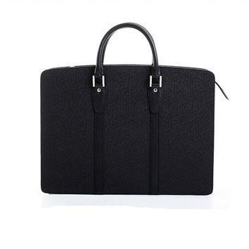 Leather Briefcase Computer Bag Casual Business Leather Mens Messenger Bag Vintage Men's Shoulder Bag Luxury Handbags Designer