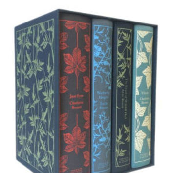 The Bronte Sisters Boxed Set: Jane Eyre, Wuthering Heights, The Tenant of Wildfell Hall, Villette