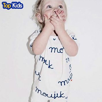 New Fashion baby Romper Knitted cotton Short sleeve newborn baby clothes jumpsuit Infant clothing set