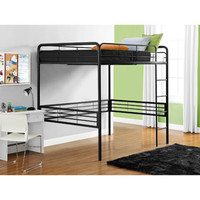 Walmart: Dorel - Full Metal Loft Bed, Black