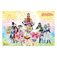 Sailor Moon Stars Group Poster