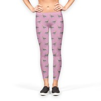 Cockatiel birds pattern Leggings by Savousepate from €37.00   miPic