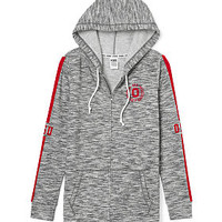 Ohio State University Full-Zip Tunic Hoodie - PINK - Victoria's Secret