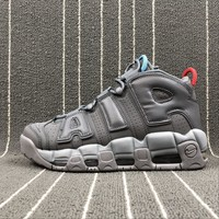 Sale Nike Air More Uptempo '96 Dark Grey Gris Fonce Sport Shoes Sneaker 921948-701