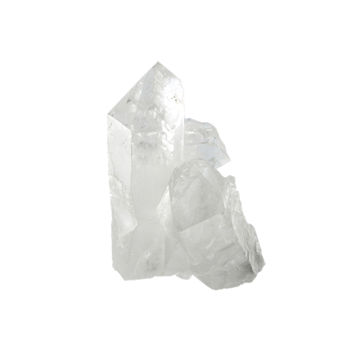 Arkansas Quartz Crystals -  8.4 ounce Cluster with Multiple Large Points