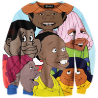 Fat Albert Cast Crewneck
