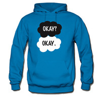 The Fault in Our Stars (Bajo la misma estrella) _ Okay _ Sweatshirt Hoodie-Inspiring by John Green