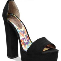 Madden Girl Wallflwr Two-Piece Platform Sandals | macys.com