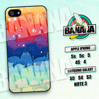 Because Cats, Colorful Cloud, iPhone 5 case, iPhone 5C Case, iPhone 5S case, Phone case, iPhone 4 Case, iPhone 4S Case, Phone Skin ,bc03