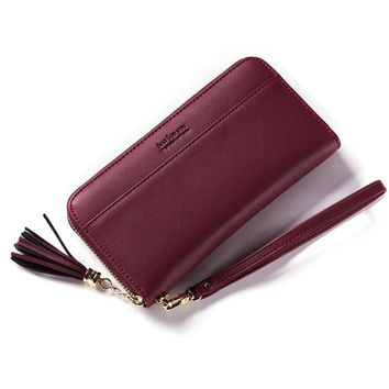 NEW 2017 Design Women Wallets and Purses Long Clutch PU Leather Wallet High Quality Fashion Wallet Female Coin Purse Phone Bags