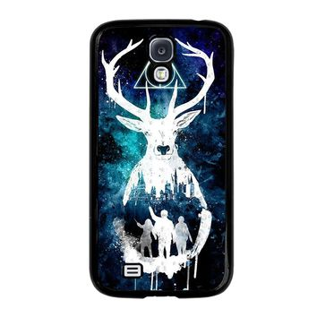 DEATHLY HALLOWS HARRY POTTER AQUARELL Samsung Galaxy S4 Case