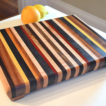 Handmade Medium Wood Cutting Board  The Perfect by tauntongreen