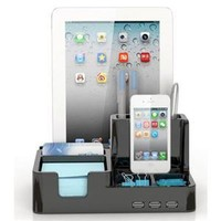 Smart Desk Organizer / Docking Station with 3 USB Ports