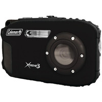 Coleman 20.0 MP-HD Waterproof Digital Camera-Black