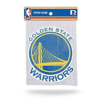 NBA Golden State Warriors Static Cling 5 X 5