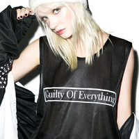 W.I.A Guilty Of Everything Tank Black One