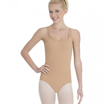 Child Cami Leotard w/ Adjustable Straps (Nude) TB1420C