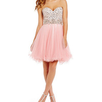 MAC by Mac Duggal Sweetheart-Embellished Bodice Party Dress | Dillards