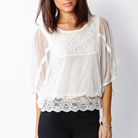 Whimsical Lace Top