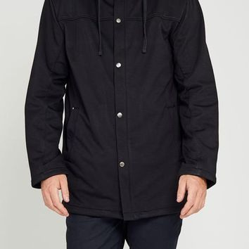 Coast Waterproof Hoodie in Black