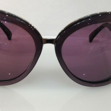 GIORGIO ARMANI GA 510/S COLOR N2M3X PURPLE PLASTIC BIG SUNGLASSES FRAME NEW 58MM