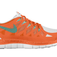Nike Free 4.0 Hybrid iD Custom Women's Running Shoes - Orange