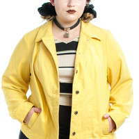 Vintage 90's Bright as Yellow Jacket - XL/2X