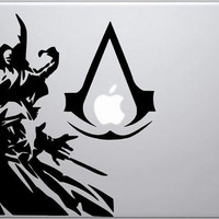 Assassin's Creed Decal - Assassin's Creed inspired Ezio Auditore decal for Macbooks, laptops, cars, windshields, etc...