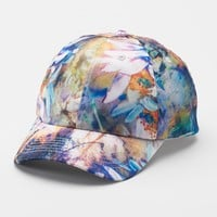 Apt. 9 Abstract Floral Baseball Cap - Women's, Size: One Size (Blue)