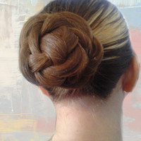 Braided Bun Pony Cover