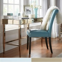 Camille Beveled Mirrored Accent 1-drawer Office Writing Desk by INSPIRE Q | Overstock.com Shopping - The Best Deals on Desks