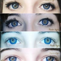 GEO Berry Holic Blue Circle Lenses Cosmetic Colored Contacts Circle Lens