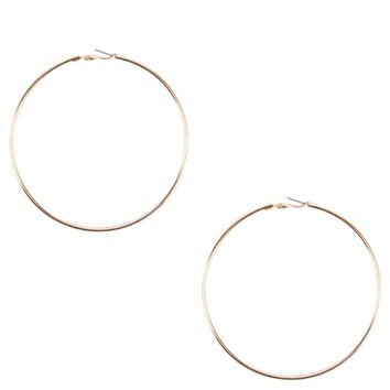 Oversized Hoops in Gold
