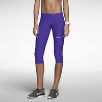 Nike Filament Women's Running Capris - Team Purple