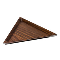 MAN of the WORLD Online Destination for Men's Lifestyle | Triangle Black Walnut Tray