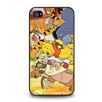 WINNIE THE POOH AND FRIENDS Disney iPhone 4 / 4S Case Cover