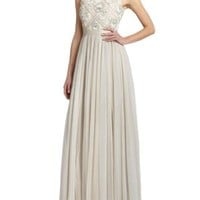 enabled: truelabel: needle & thread-Beaded-Tier Maxi Dress