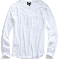 White Pocket Henley