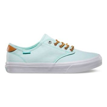 Vans Camden (Chambray/mint)