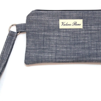 iPhone 6+ Wristlet - Chambray