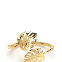 Palm Leaf Cuff Bracelet by Juicy Couture