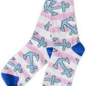 Simply Southern Preppy Sock Anchor