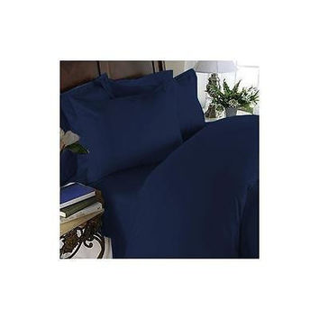 Regal Comfort Bamboo Luxury 2100 Series Hotel Quality Sheet Cal King Navy Blue