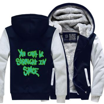 You Cant Be Straight In Space, Rick And Morty Fleece Jacket