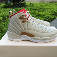"Air Jordan 12 ""Chinese New Year"" 20 Anni AJ 12 Retro CNY Women Basketball shoes"