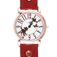 Whimsical Bambi Vintage Leather Strap Watch