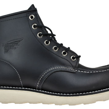"Red Wing ® 9075 6"" Heritage Moc Boot - Black"