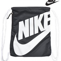 NIKEHERITAGE GYM BAG - BLACK